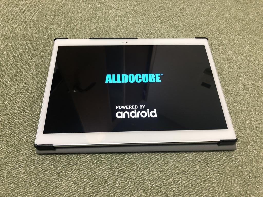 クラウドファンディングでAlldocube Xがようやく届いたので個人的評価を。